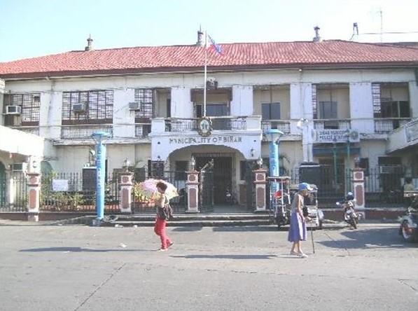 Binan City History in Tagalog (Old Municipal Building)