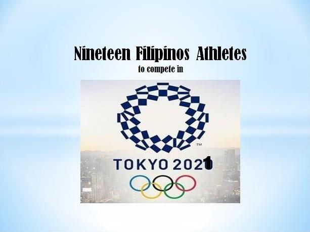 List of 19 Filipino Athletes in Tokyo Olympics 2021
