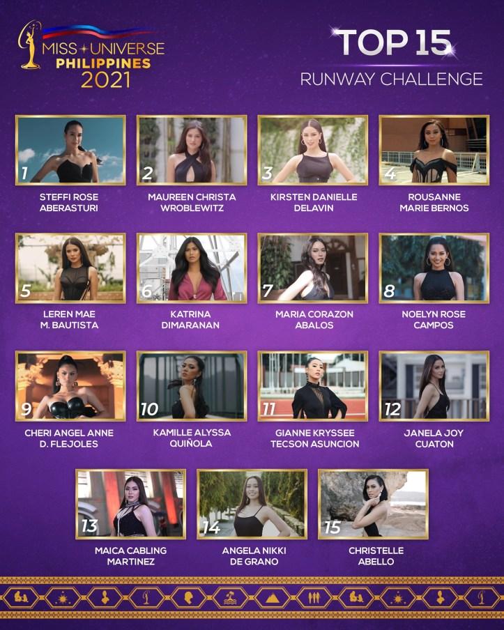 Top 15 for the Runway Challenge