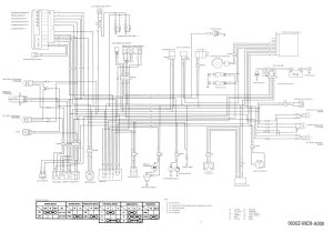 1995 Honda Shadow 1100 Wiring Diagram  Wiring Diagram and