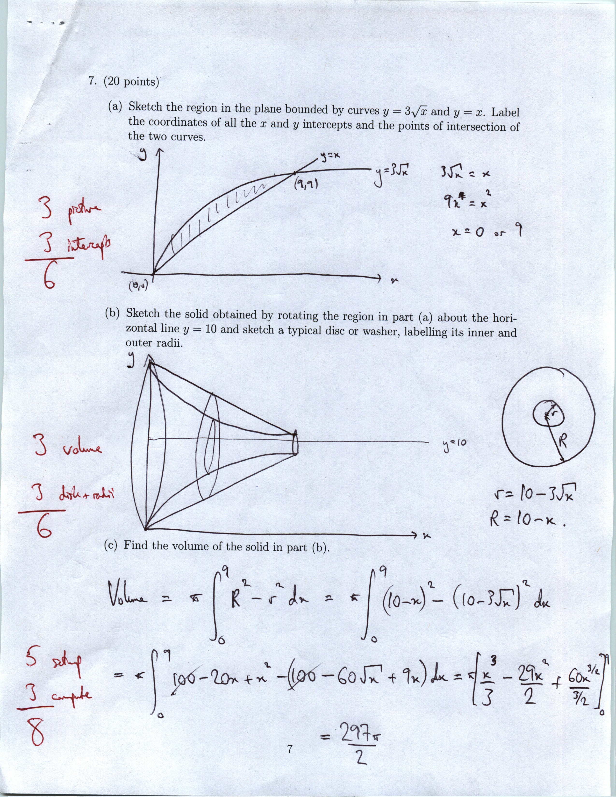 Calculus Homework Sheets