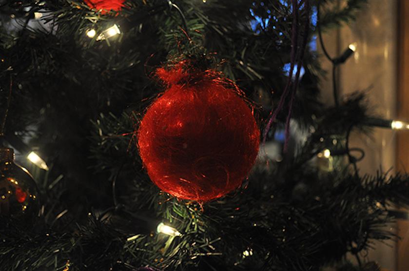 harige kerstboom