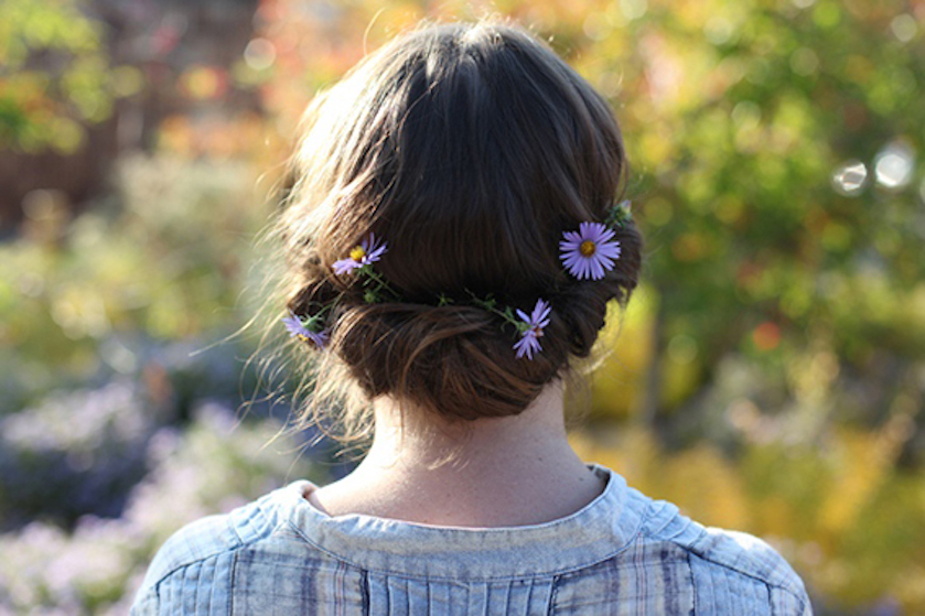 tutorial bloemen haarrol
