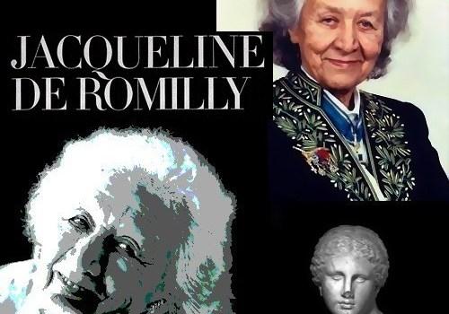 Ζακλίν ντε Ρομιγί: «Όλος ο κόσμος πρέπει να μάθει Ελληνικά, γιατί η Ελληνική γλώσσα βοηθάει πρώτα απ` όλα να καταλάβουμε τη δική μας γλώσσα…»