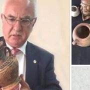 Επιστροφή δεκαεπτά αρχαιοτήτων Ελληνιστικής περιόδου με την συμβολή του Αντιπροέδρου G. Sciacca Ελλάδας, Γιώργο Τσούκαλη.