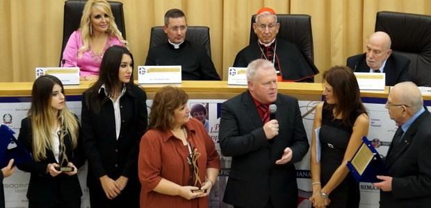Άννα – Μαρία Λιόγα & Νίκη Δελή, οι Ελληνίδες hostess των φετινών Βραβείων Sciacca στο Βατικανό