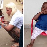 Το 'σκελετωμένο' αγοράκι από την Νιγηρία… σήμερα είναι ένα υγιές αγόρι που ακούει στο όνομα Hope….