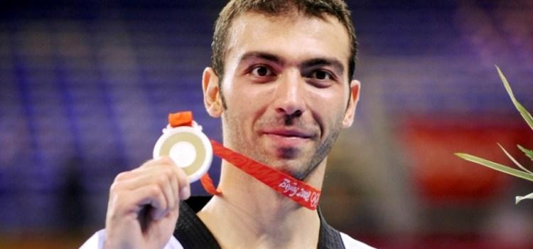 Αλέξανδρος Νικολαΐδης: Συνέντευξη πριν από την Τελετή Έναρξης των Ολυμπιακών Αγώνων του Λονδίνου, στην οποία ήταν σημαιοφόρος