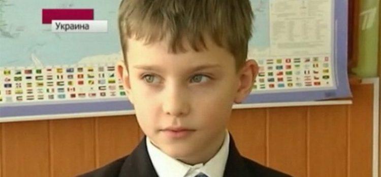 Vitalii Nechaiev: Ο 10χρονος Ουκρανός που διδάσκει Ιστορία στο Πανεπιστήμιο