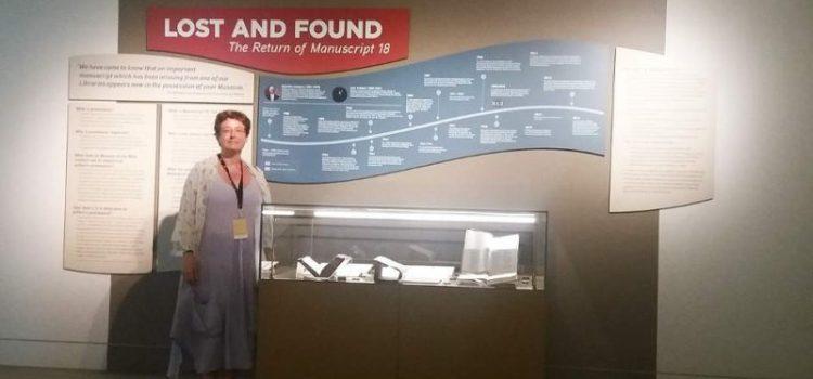 Θεοδώρα Αντωνοπούλου: Ο διεθνής νόστος του χειρογράφου που γύρισε στο Πανεπιστήμιο Αθηνών μετά από 30 χρόνια