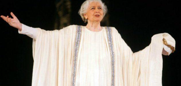 Αφιέρωμα στην κορυφαία και χαρισματική Ελληνίδα δραματική ηθοποιό και πολιτικό Άννα Συνοδινού