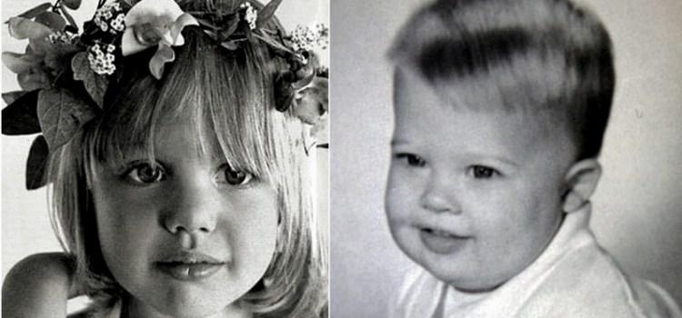 Πως ήταν 30 διάσημοι όταν ήταν παιδιά;