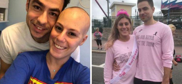 Διαγνώστηκε με καρκίνο. Του πρότεινε να χωρίσουν και αυτός την παντρεύτηκε