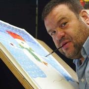 Καλλιτέχνες που ζωγραφίζουν με τα πόδια καλλιεργούν μοναδικά μοτίβα στον εγκέφαλο