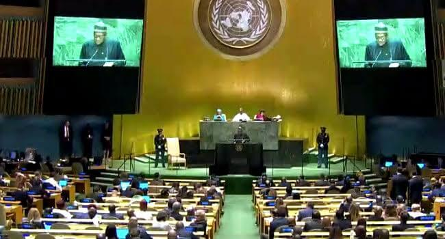 UNGA:-Buhari-seeks-action-against-xenophobia,-poverty