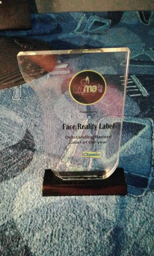 OYO C, Face Reality Records Bag CAMA Award