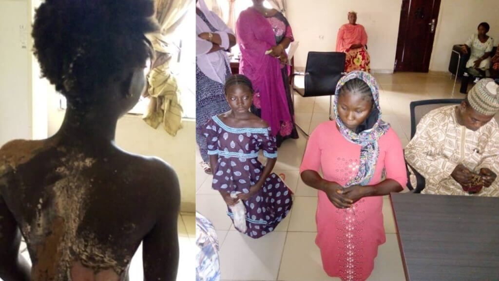 Woman-arrested-for-pouring-hot-water-on-step-sister