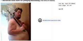 Craigslist Marauding and pillaging