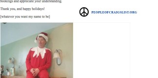 Craigslist Elf on a Shelf