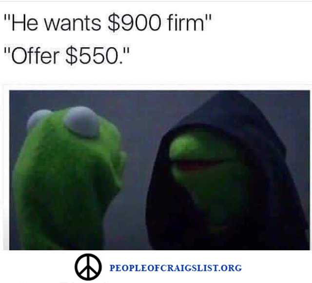 kermit the from on craigslist