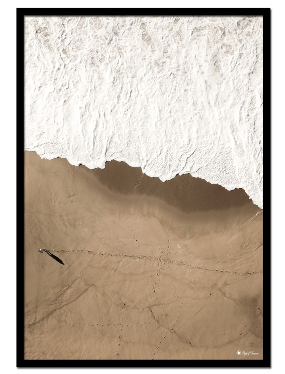 """Big Brown Beach poster 