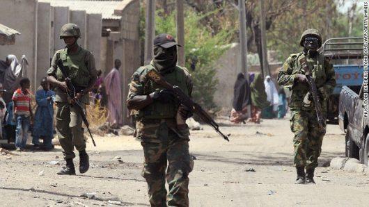 Soldiers destroy ISWAP camp in Borno