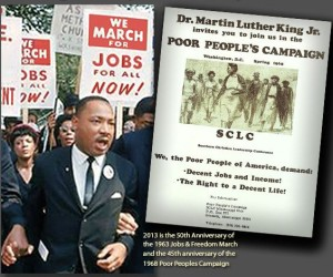 M.L. King and Poor Peoples Campaign