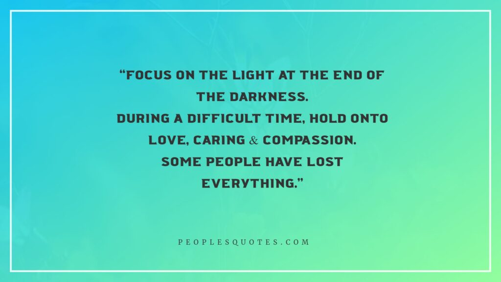 love, caring and compassion quotes