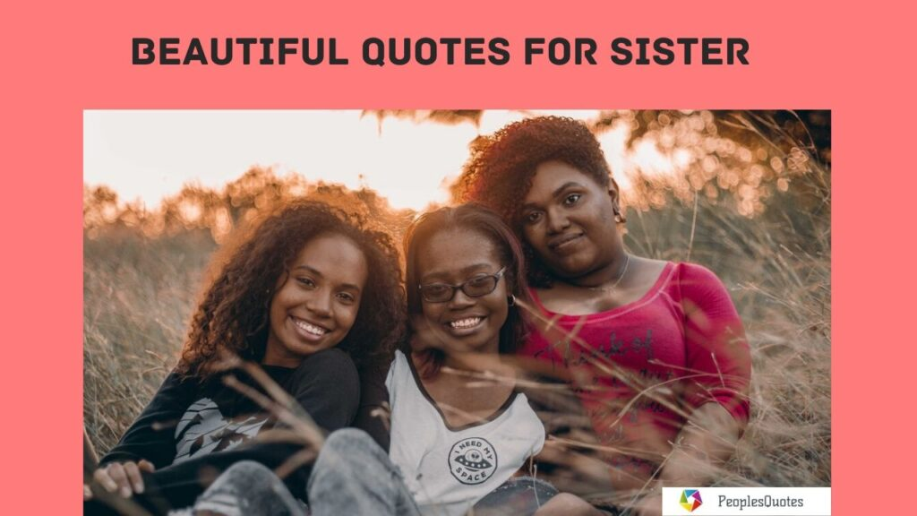 Cute Quotes for Sister