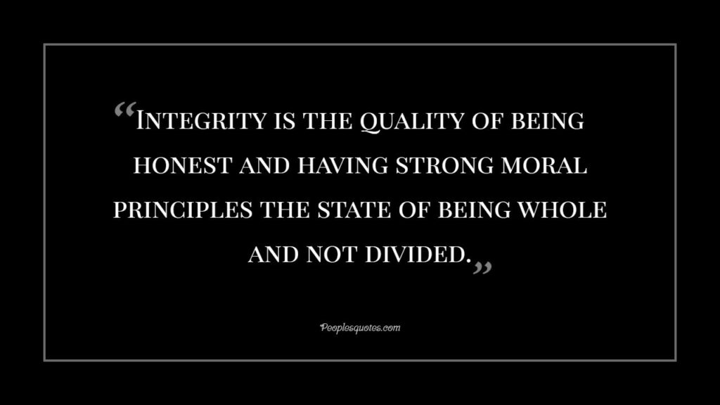 Quotes on Integrity & Truth