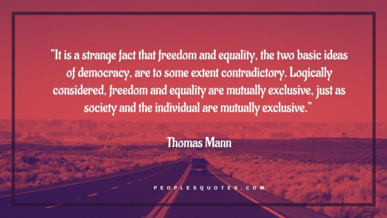 Democracy and Independence  Quotes