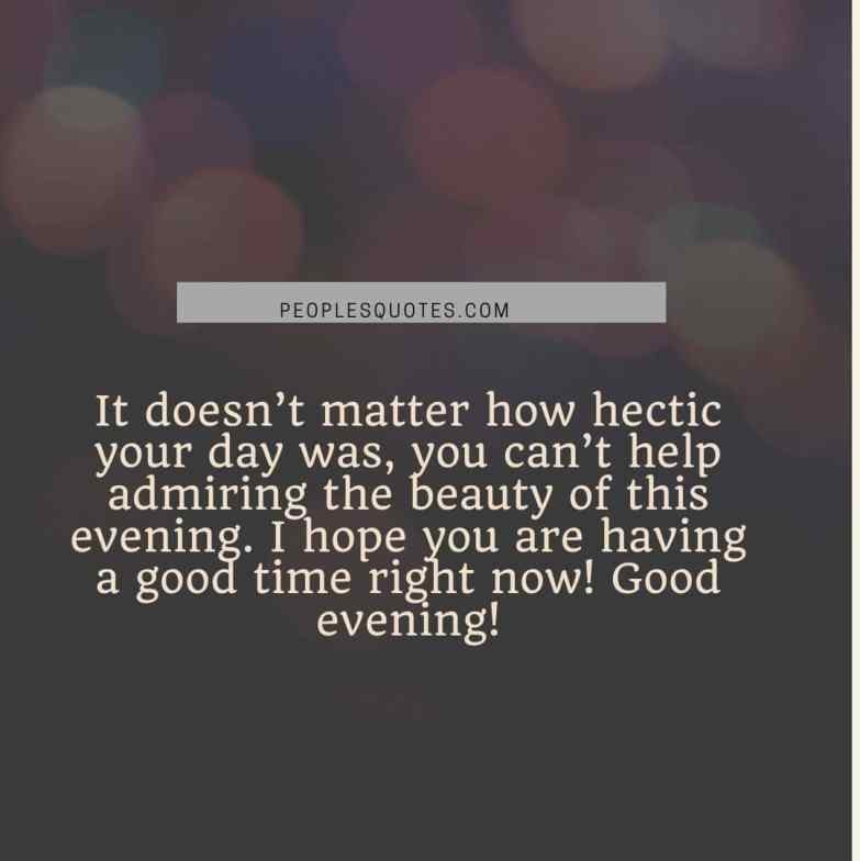 Good Evening Quotes For Her