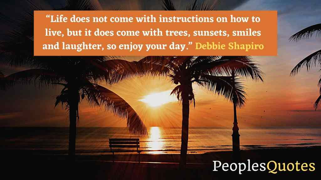 Sunset Quotes with images