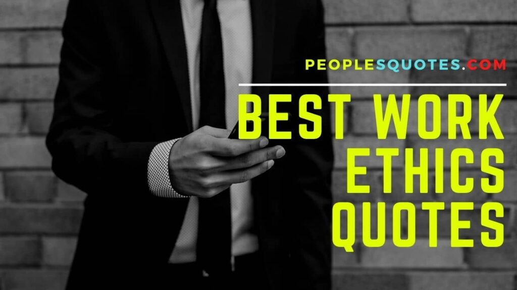 Quotes on Work Ethics