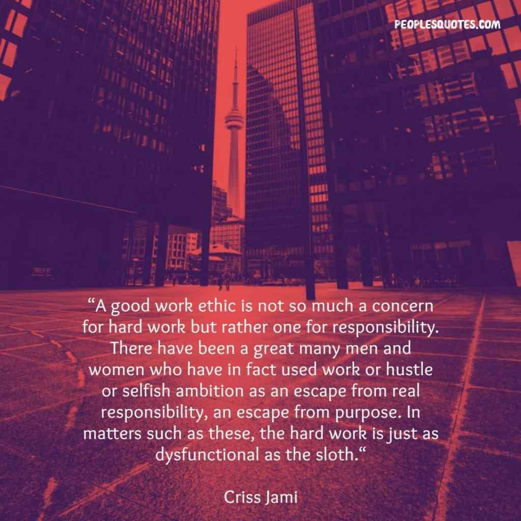 Work Ethic Motivational Sayings