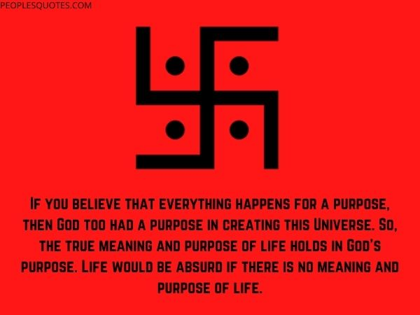 Purpose of life Hinduism