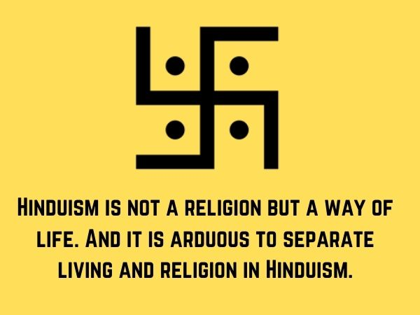 Hinduism Quotes on Life