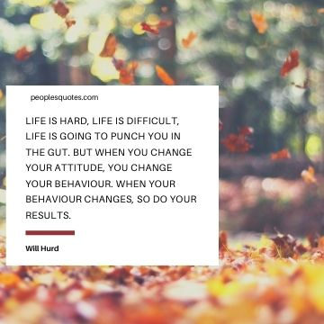 Will Hurd Life is hard quotes