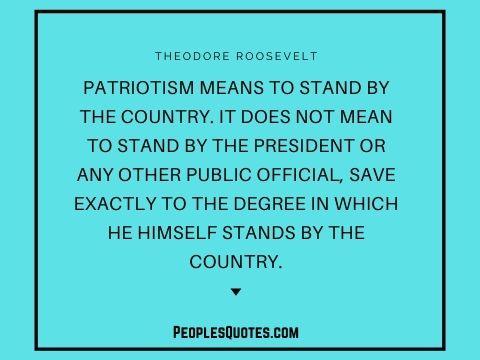 American patriotism quotes