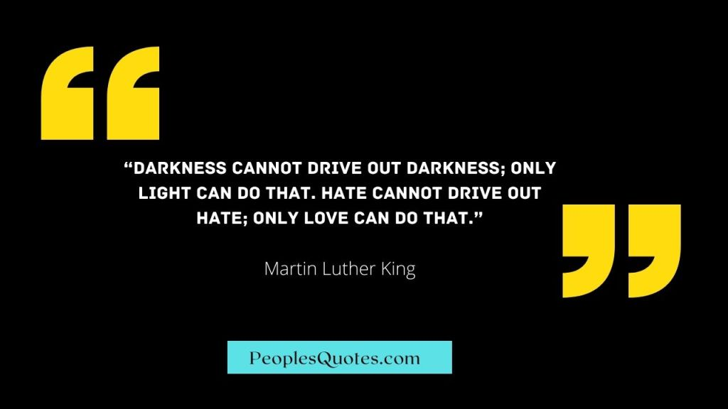 Martin Luther quotes on Racism.