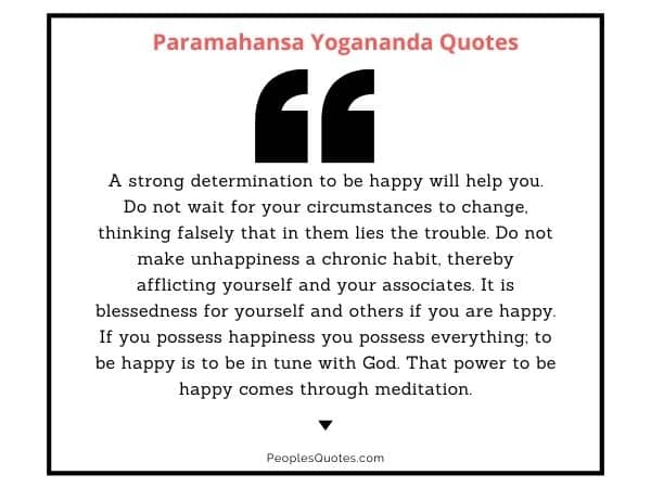 Yogananda meditation quotes