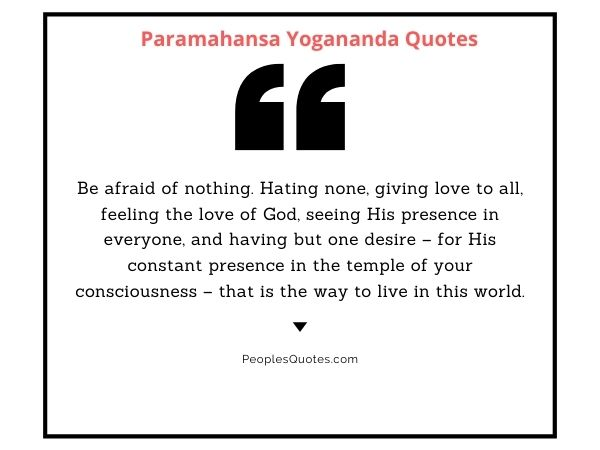 Yogananda quotes on god