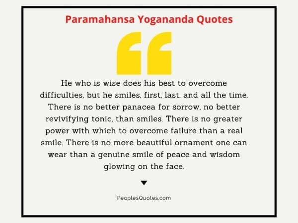 Best Quotes of Paramhansa Yogananda