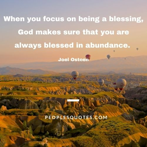 Abundant Blessings Quotes