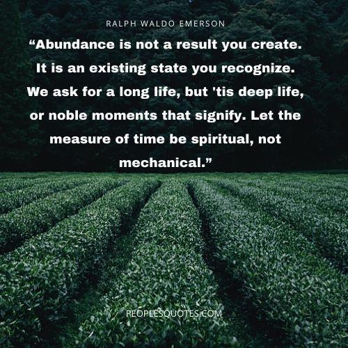 Spiritual Abundance Quotes