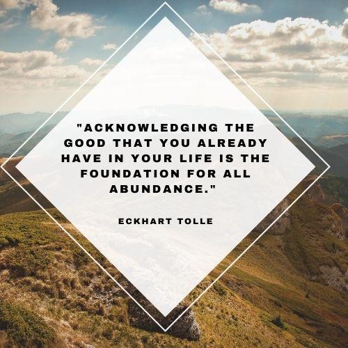 abundance life quotes
