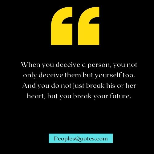 Deceive Quotes and Images
