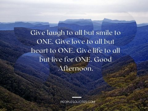 Images for Good Afternoon Quotes
