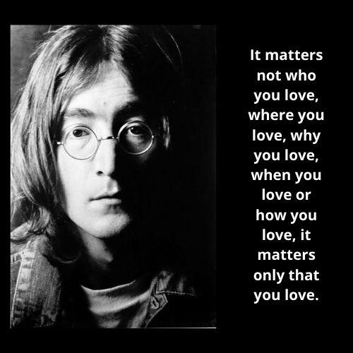 John Lennon Love Quote