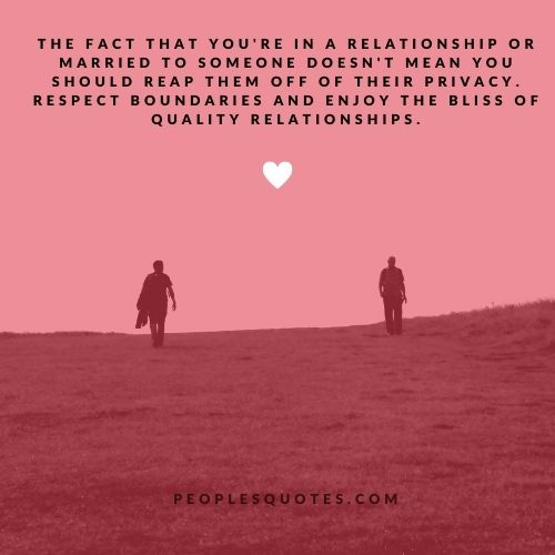 Privacy In A Relationship Quotes